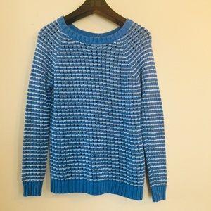 Olive & Oak knit striped sweater. Size Medium